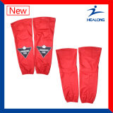 Calcetines del hockey sobre hielo de los hombres llenos de la sublimación de la ropa de deportes de Healong
