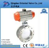 Feito em China, válvula de borboleta da bolacha da alta qualidade da precisão do OEM de Alibaba Dn400 com preço