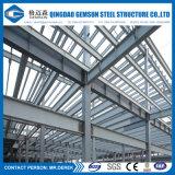 Construction préfabriquée d'entrepôt de structure métallique avec la conformité de la CE