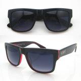 Óculos de sol novos dos homens do frame do acetato da lente do inclinação da forma