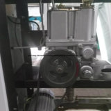 Erogatore del combustibile di singolo ugello con il set televisivo disponibile - due visualizzazioni