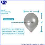 """12 """" 3.2g円形の整形真珠カラー乳液の気球党装飾"""