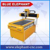 Couteau en bois de la commande numérique par ordinateur Ele-6090, commande numérique par ordinateur sèche de couteau en bois 6090 d'approvisionnement d'usine avec le prix promotionnel, axe de rotation