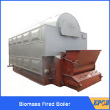 Caldera de agua caliente encendida biomasa de la rejilla del encadenamiento de Priceautomatic de la fábrica