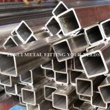 Aislante de tubo soldado del cuadrado del acero inoxidable 304 para la construcción de la decoración
