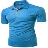Sublimation-Drucken-Polyester-trockenes Sitz-Polo-Hemd