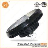 Bahía del UFO LED de Dlc IP65 200W del cUL de la UL alta con 5 años de garantía