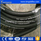 Stahldraht-Spirale-industrieller hydraulischer Schlauch (4SP/R12)