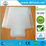 Циновка стула PVC для ковров кучи плюша ясность больше чем 0.1 дюймов толщиная 47 x 35 дюймов прямоугольная