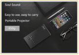 Beweglicher Miniprojektor 1080P mit grellem Fahrer WiFi/Bluetooth Unterstützungs-TF-Card/USB (T9)
