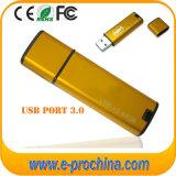 도매 주문 로고 알루미늄 USB3.0 USB 섬광 드라이브 (ET265)