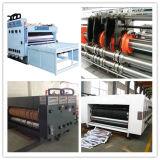 波形のカートンボックス作成のための単一の色刷機械