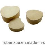 Caixa de madeira do queijo das decorações para o dia de matriz