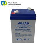 nachladbare AGM gedichtete Leitungskabel 6V Aicd Batterie für Warnungssystem
