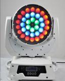 36*10W RGBW 4in1 LED bewegliches helles Summen-Wäsche-Hauptlicht