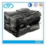 Цвет ясности отброса HDPE/LDPE и огромные черные пластичные плоские мешки