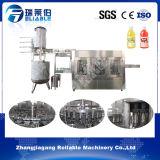 máquina de rellenar del jugo automático de la botella 3-in-1 para la bebida del té