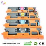 Cartucho de toner del color de Q3960A 3961A 3962A 3963A para la impresora de la original del HP