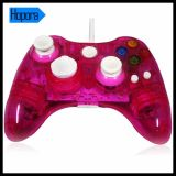 xBox 360 Consoleのための青いWired Transparent Controller