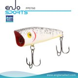 釣り人の選り抜き堅いプラスチックPopper浮遊釣魅惑の地上水の低音の餌の釣り道具の魅惑(PP0760)