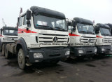 Scaina Truck에 벤즈 Technology Competitive를 가진 직업적인 Supply 420HP/380HP Beiben Powerstar Tractor Truck Ng80 6X4 North Benz