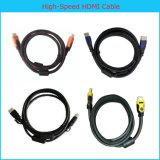 штепсельная вилка HDMI 1080P HDMI Cable/V1.3 V1.4 высокоскоростная золотистая покрынная