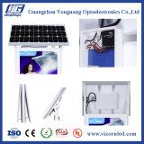 Double cadre latéral d'éclairage LED d'énergie solaire avec deux stands-&#160 ; SOL-60
