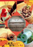 De dubbele Machine van het Roomijs van het Gebraden gerecht van Thailand van de Cilinder