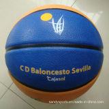 Feito no basquetebol feito sob encomenda da borracha do logotipo da boa qualidade de China