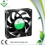 12V 24V 70mm 70X70X15mm Ventilador de ventilação com terminal USB