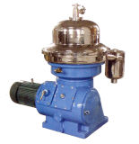 Centrifugador líquido contínuo da indústria alimentar do disco da separação