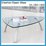 Edelstahl Dining Table mit Glass Top