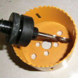 Biの金属の穴は見、安全そして効率的に切れる