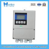 Koolstofstaal van Hanton Bevestigde Ultrasone (de Meter van de Stroom) Debietmeter