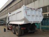 판매를 위한 380HP Euro3 배출 기준 Sinotruk 6X4 구동 장치형 25ton 팁 주는 사람 트럭