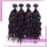 バージンの人間の毛髪の加工されていない毛のインドの毛の織り方