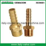 カスタマイズされた品質の真鍮のMpt Adptのはんだのカップリングのニップル(AV9032)
