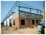 Taller prefabricado de la estructura de acero de la alta calidad del bajo costo