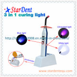 New Dental Three Colors LED Curing Light