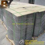 Treillis métallique soudé galvanisé enduit par PVC d'acier inoxydable