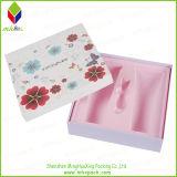 Коробка сливк стороны косметическая с печатание цветка