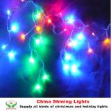 Света Icicle украшения СИД праздника рождества