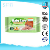 15PCS Travel Pack Aloe Vera Limpeza de rosto e corpo Limpa molhada de bebê