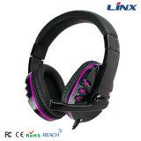 中国のベストセラーのブランドのヘッドホーンのコンピュータアクセサリの賭博のヘッドセットのステレオヘッドホーン