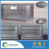 Conteneur de cage de mémoire de treillis métallique en métal de grande capacité
