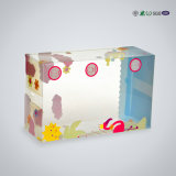 상점가에서 널리 이용되는 상자를 포장하는 플라스틱 아기 옷