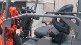 Perkins 엔진 선택권 Zl06 소형 작은 정면 세륨 트랙터 로더를 가진 중국