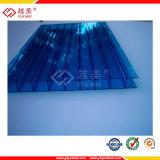 Preço barato da folha do policarbonato da parede de China multi