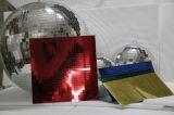 Bola del disco del espejo de la luz del partido de la etapa de la Navidad