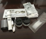 Cire fumant le vaporisateur électronique de cire de pointe de nécessaire de cigarette